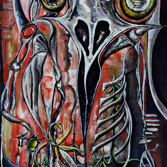 Raven Skull No 3