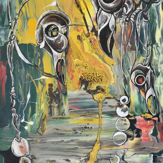 Raven Skulls No 2